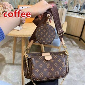 Women's High Quality Bag Leather Bag Fashion Bag E